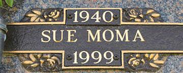 MOMA, SUE - Mohave County, Arizona | SUE MOMA - Arizona Gravestone Photos