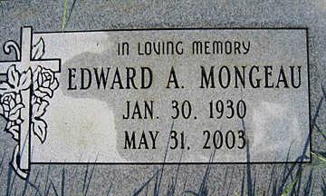 MONGEAU, EDWARD A - Mohave County, Arizona | EDWARD A MONGEAU - Arizona Gravestone Photos
