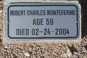MONTEFERING, ROBERT CHARLES - Mohave County, Arizona | ROBERT CHARLES MONTEFERING - Arizona Gravestone Photos