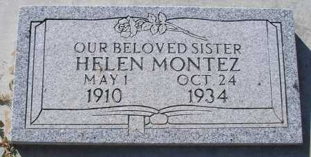 MONTEZ, HELEN - Mohave County, Arizona | HELEN MONTEZ - Arizona Gravestone Photos