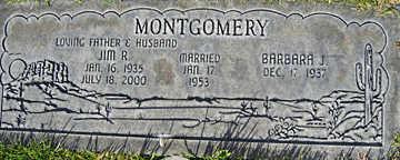 MONTGOMERY, JIM R - Mohave County, Arizona | JIM R MONTGOMERY - Arizona Gravestone Photos