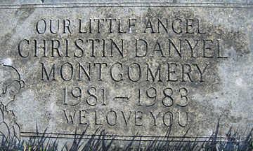 MONTGOMERY, CHRISTINA DANYEL - Mohave County, Arizona | CHRISTINA DANYEL MONTGOMERY - Arizona Gravestone Photos