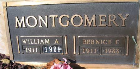 MONTGOMERY, WILLIAM A - Mohave County, Arizona | WILLIAM A MONTGOMERY - Arizona Gravestone Photos