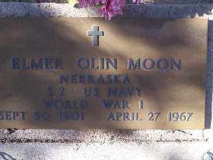 MOON, ELMER OLIN - Mohave County, Arizona   ELMER OLIN MOON - Arizona Gravestone Photos