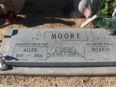 MOORE, PATRICIA - Mohave County, Arizona | PATRICIA MOORE - Arizona Gravestone Photos