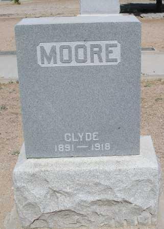 MOORE, CLYDE - Mohave County, Arizona | CLYDE MOORE - Arizona Gravestone Photos