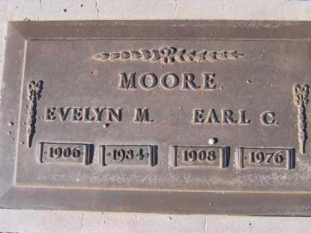 MOORE, EVELYN M. - Mohave County, Arizona   EVELYN M. MOORE - Arizona Gravestone Photos