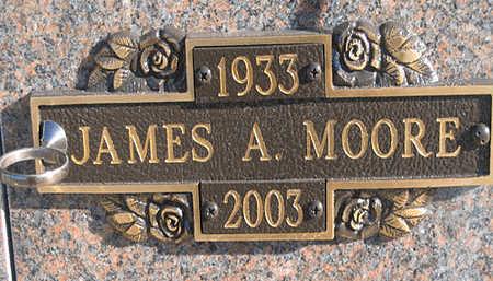 MOORE, JAMES A - Mohave County, Arizona | JAMES A MOORE - Arizona Gravestone Photos