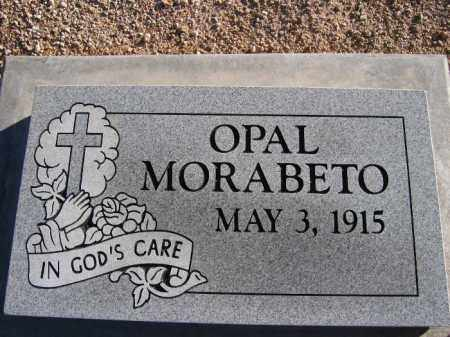 MORABETO, OPAL - Mohave County, Arizona | OPAL MORABETO - Arizona Gravestone Photos