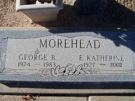 MOREHEAD, GEORGE B - Mohave County, Arizona | GEORGE B MOREHEAD - Arizona Gravestone Photos