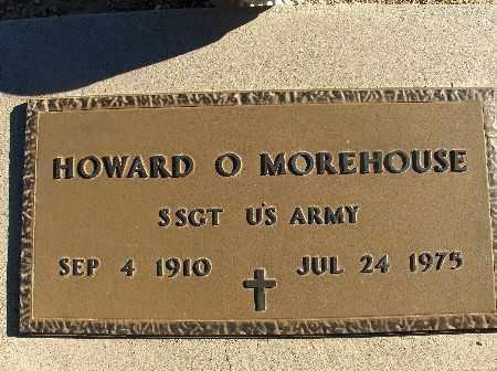 MOREHOUSE, HOWARD O. - Mohave County, Arizona | HOWARD O. MOREHOUSE - Arizona Gravestone Photos