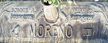 MORENO, BONNIE A - Mohave County, Arizona | BONNIE A MORENO - Arizona Gravestone Photos