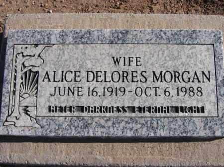 MORGAN, ALICE DELORES - Mohave County, Arizona | ALICE DELORES MORGAN - Arizona Gravestone Photos
