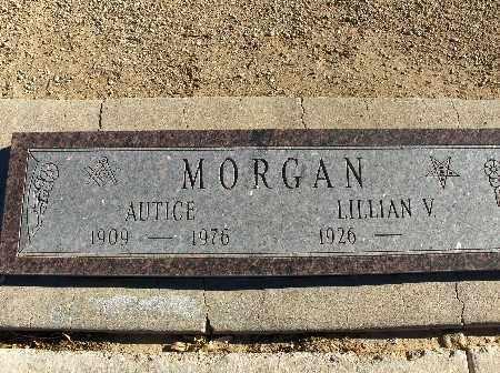 MORGAN, AUTICE - Mohave County, Arizona | AUTICE MORGAN - Arizona Gravestone Photos