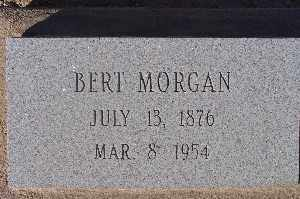 MORGAN, BERT - Mohave County, Arizona   BERT MORGAN - Arizona Gravestone Photos