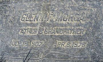 MORGAN, GLENN FRANK - Mohave County, Arizona | GLENN FRANK MORGAN - Arizona Gravestone Photos
