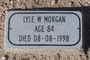 MORGAN, LYLE W - Mohave County, Arizona   LYLE W MORGAN - Arizona Gravestone Photos