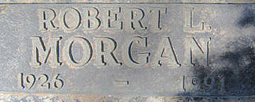 MORGAN, ROBERT L - Mohave County, Arizona | ROBERT L MORGAN - Arizona Gravestone Photos