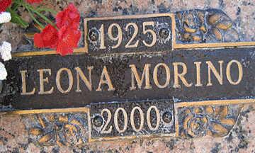 MORINO, LEONA - Mohave County, Arizona   LEONA MORINO - Arizona Gravestone Photos
