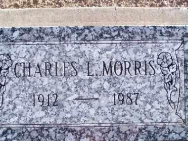 MORRIS, CHARLES L. - Mohave County, Arizona   CHARLES L. MORRIS - Arizona Gravestone Photos