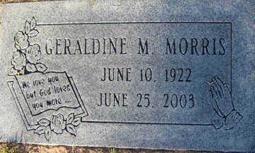 MORRIS, GERALDINE M - Mohave County, Arizona | GERALDINE M MORRIS - Arizona Gravestone Photos