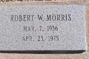 MORRIS, ROBERT W - Mohave County, Arizona | ROBERT W MORRIS - Arizona Gravestone Photos
