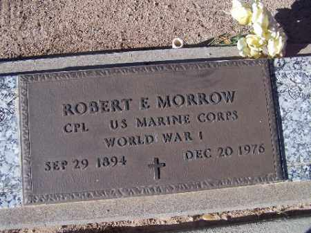MORROW, ROBERT E. - Mohave County, Arizona | ROBERT E. MORROW - Arizona Gravestone Photos