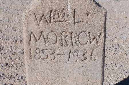 MORROW, WM L. - Mohave County, Arizona   WM L. MORROW - Arizona Gravestone Photos