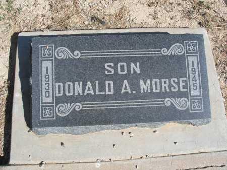 MORSE, DONALD A. - Mohave County, Arizona | DONALD A. MORSE - Arizona Gravestone Photos