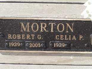 MORTON, CELIA P - Mohave County, Arizona | CELIA P MORTON - Arizona Gravestone Photos