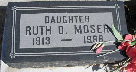 MOSER, RUTH O. - Mohave County, Arizona   RUTH O. MOSER - Arizona Gravestone Photos