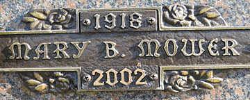 MOWER, MARY B - Mohave County, Arizona | MARY B MOWER - Arizona Gravestone Photos
