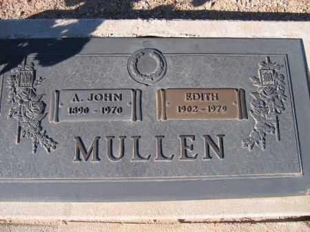 MULLEN, EDITH - Mohave County, Arizona | EDITH MULLEN - Arizona Gravestone Photos