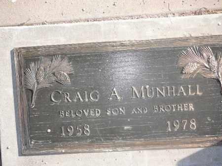 MUNHALL, CRAIG A - Mohave County, Arizona | CRAIG A MUNHALL - Arizona Gravestone Photos
