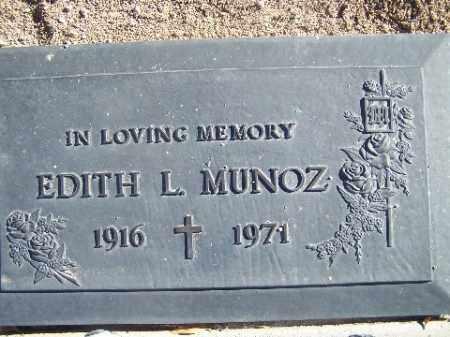 MUNOZ, EDITH L. - Mohave County, Arizona | EDITH L. MUNOZ - Arizona Gravestone Photos