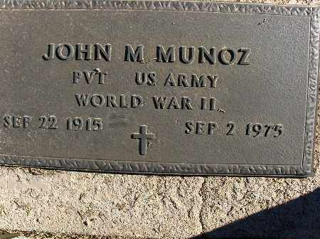 MUNOZ, JOHN M. - Mohave County, Arizona | JOHN M. MUNOZ - Arizona Gravestone Photos