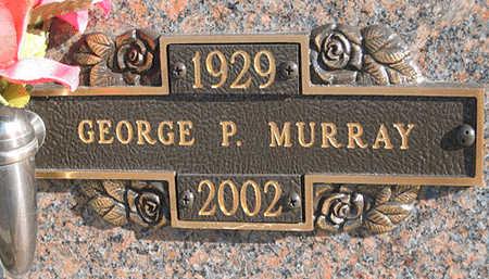 MURRAY, GEORGE P - Mohave County, Arizona | GEORGE P MURRAY - Arizona Gravestone Photos
