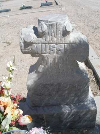 MUSSER, A. LAWRENCE - Mohave County, Arizona | A. LAWRENCE MUSSER - Arizona Gravestone Photos