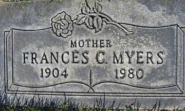 MYERS, FRANCES C - Mohave County, Arizona | FRANCES C MYERS - Arizona Gravestone Photos