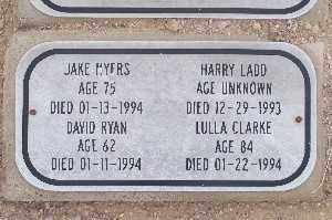MYERS, JAKE - Mohave County, Arizona | JAKE MYERS - Arizona Gravestone Photos