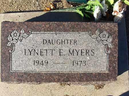 MYERS, LYNETT E. - Mohave County, Arizona | LYNETT E. MYERS - Arizona Gravestone Photos