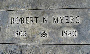MYERS, ROBERT N - Mohave County, Arizona | ROBERT N MYERS - Arizona Gravestone Photos