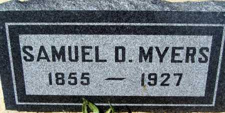 MYERS, SAMUEL D - Mohave County, Arizona | SAMUEL D MYERS - Arizona Gravestone Photos