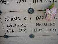 MYRLAND, NORMA B - Mohave County, Arizona | NORMA B MYRLAND - Arizona Gravestone Photos
