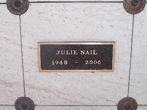 NAIL, JULIE - Mohave County, Arizona | JULIE NAIL - Arizona Gravestone Photos