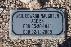 NAUGHTON, NEIL EDWARD - Mohave County, Arizona | NEIL EDWARD NAUGHTON - Arizona Gravestone Photos