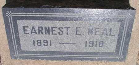 NEAL, EARNEST E. - Mohave County, Arizona | EARNEST E. NEAL - Arizona Gravestone Photos