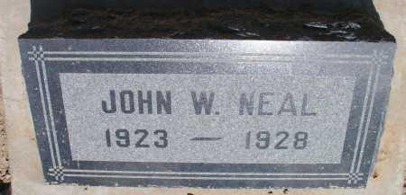 NEAL, JOHN W. - Mohave County, Arizona   JOHN W. NEAL - Arizona Gravestone Photos