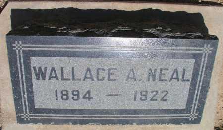 NEAL, WALLACE A. - Mohave County, Arizona | WALLACE A. NEAL - Arizona Gravestone Photos
