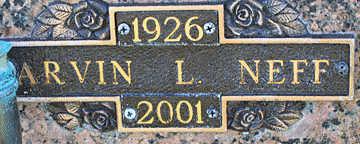 NEFF, ARVIN L - Mohave County, Arizona | ARVIN L NEFF - Arizona Gravestone Photos